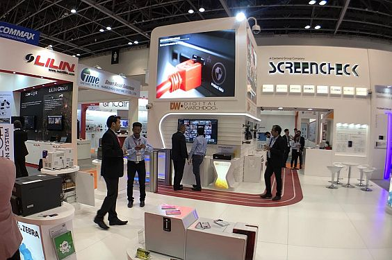Screencheck exhibits futuristic biometric tech at Intersec 2018